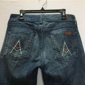 """7 For All Mankind """"A"""" Pocket Flare Jeans 25"""